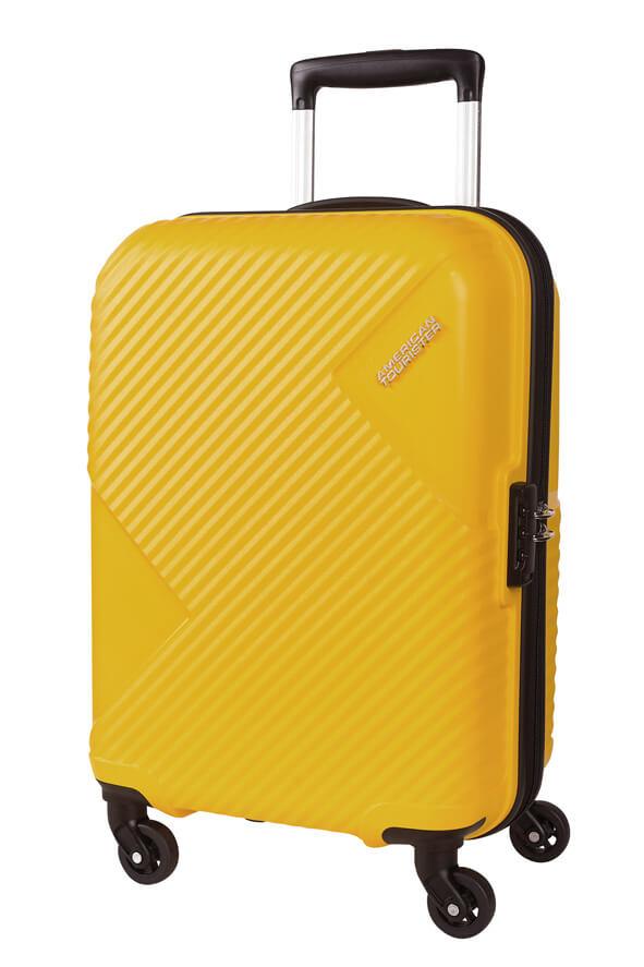 Mala de Cabine 55cm c/ 4 Rodas Amarela - AT Zakk | American Tourister