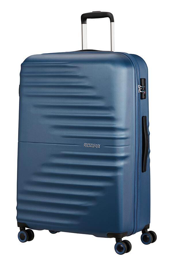 Mala de Viagem Grande 77cm c/ 4 Rodas Azul Marinho - WaveTwister | American Tourister