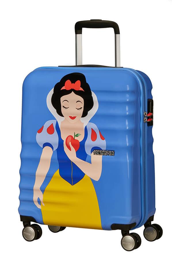 Mala de Cabine 55cm c/ 4 Rodas Princesa Branca de Neve - Wavebreaker Disney    American Tourister