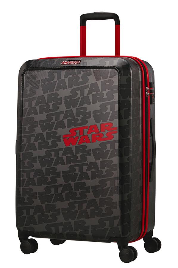 Mala de Viagem Média 67cm c/ 4 Rodas Star Wars Logo - Funlight Star Wars  | American Tourister