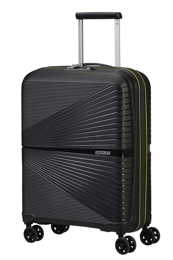 Mala de Cabine Superleve 55cm c/ 4 Rodas Ed. Ltd. Néon Preto/Amarelo - Airconic | American Tourister