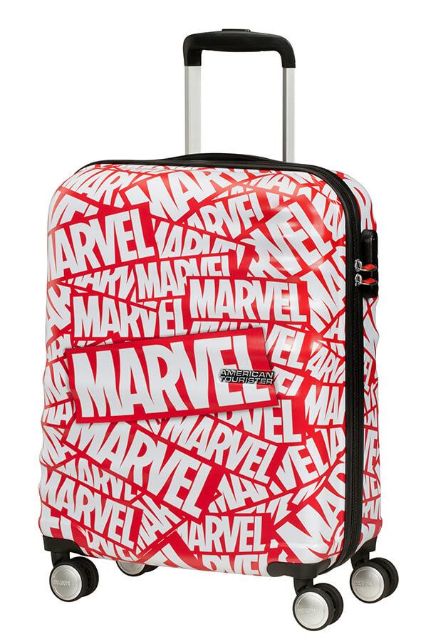 Mala de Cabine 55cm c/ 4 Rodas Marvel Logo - Marvel | American Tourister