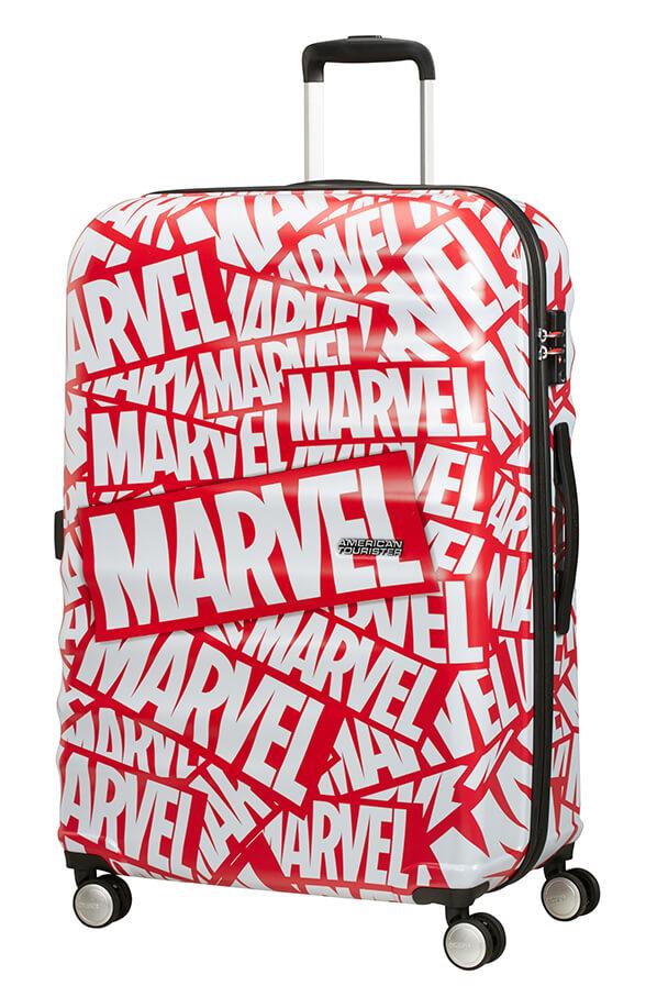 Mala de Viagem Grande 77cm c/ 4 Rodas  Marvel Logo - Marvel | American Tourister