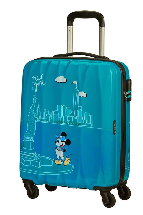 Mala de Cabine 55cm c/ 4 Rodas Mickey em Nova Iorque - Disney Legends | American Tourister
