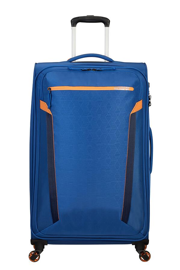 Mala de Viagem Grande Ecológica 79cm c/ 4 Rodas Azul Marinho - AT Eco Spin   American Tourister