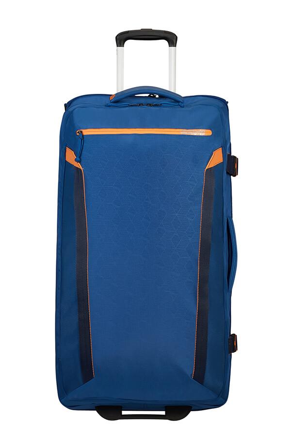 Saco de Viagem Ecológico 79cm c/ 2 Rodas Azul Marinho - AT Eco Spin   American Tourister