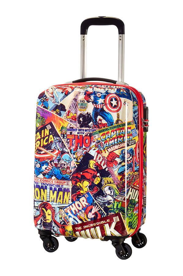 Mala de Cabine 55cm c/ 4 Rodas Marvel Vingadores Comics 2.0  | American Tourister
