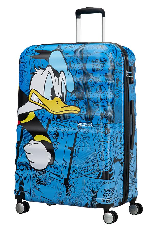Detalhe - Mala de Viagem 4 Rodas 77cm Donald Duck | Americantourister.pt