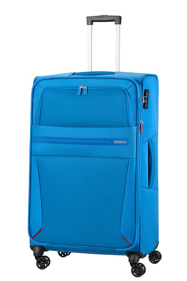 Mala de Viagem Grande 79cm 4 Rodas Expansível Breeze Blue - American ... a2adf5774c