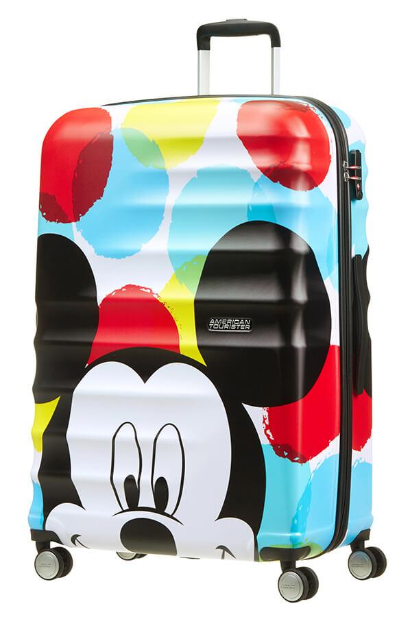 Detalhe - Mala de Viagem 4 Rodas 77cm Mickey | Americantourister.pt