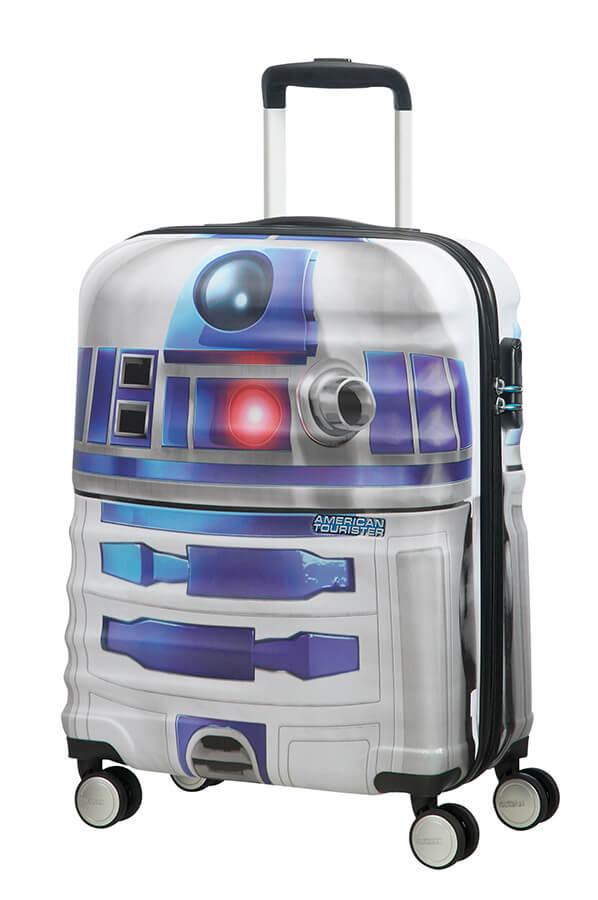 Detalhe - Mala de Cabine 4 Rodas 55cm Star Wars R2D2 | Americantourister.pt
