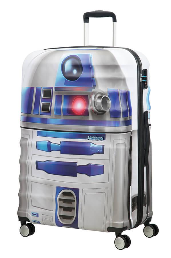 Detalhe - Mala de Viagem 4 Rodas 77cm Star Wars R2D2 | Americantourister.pt