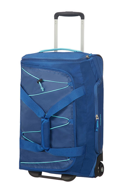 Saco de Viagem 55cm c/ 2 Rodas Azul - Road Quest | American Tourister