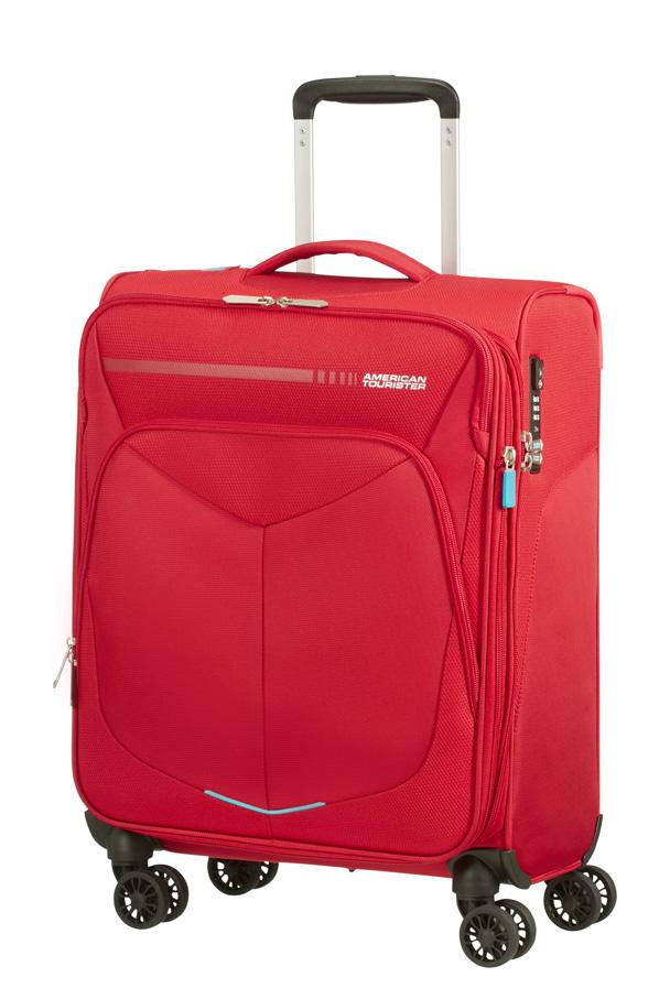 Trolley - Mala de Cabine 55cm c/4 Rodas Expansível Vermelha - Summerfunk | American Tourister