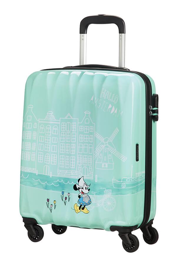 Mala de Cabine 55cm c/4 Rodas Minnie em Amesterdão - Disney Legends | American Tourister