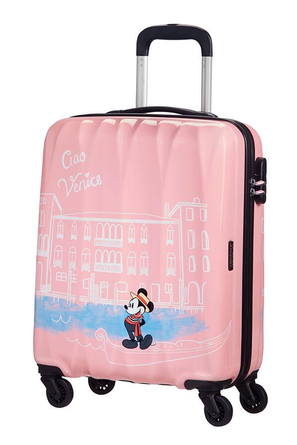 Mala de Cabine 55cm c/4 Rodas Mickey em Veneza - Disney Legends   American Tourister