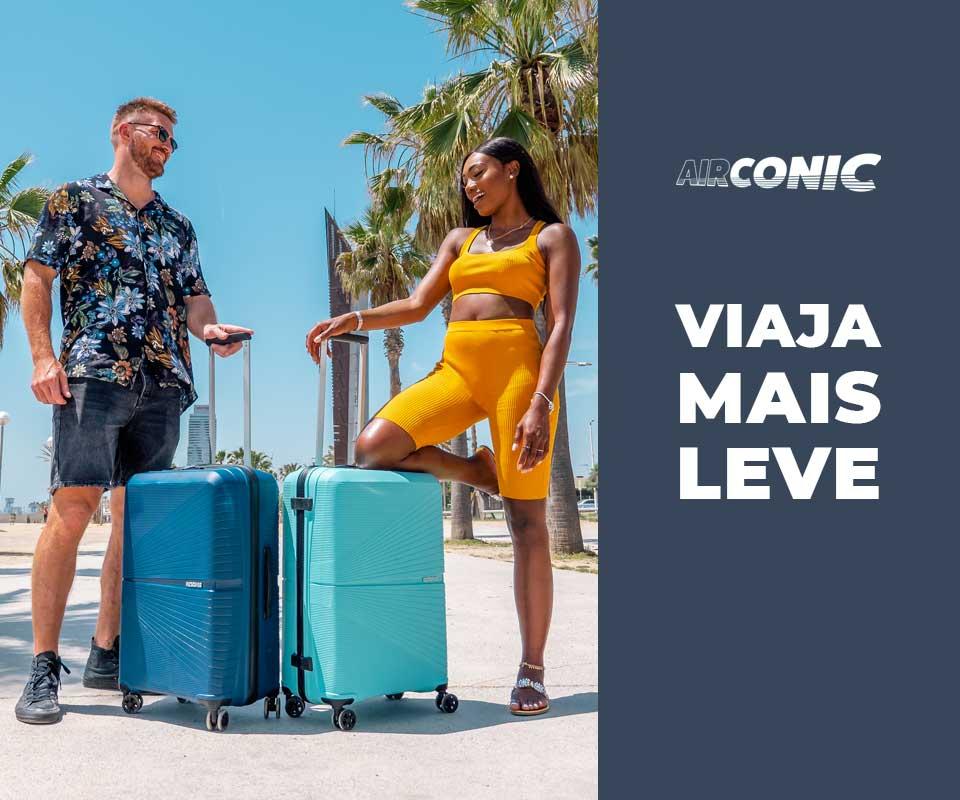 Viaja Mais Leve com a Mala Airconic