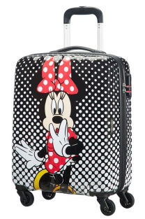 Mala de Cabine 55cm c/ 4 Rodas Minnie Mouse Polka Dots - Disney Legends | American Tourister