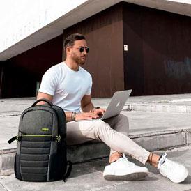 Mochila para Portátil Urban Groove Azul - American Tourister