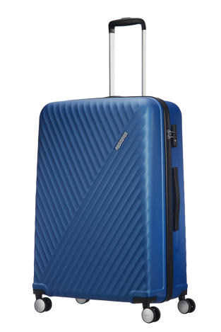 Mala de Viagem Grande 77cm c 4 Rodas Azul - Visby   American Tourister.    mala de viagem grande 77cm c4 rodas azul 2 10f57c9ddf