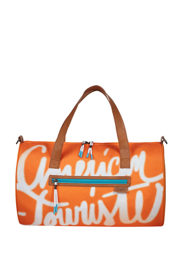 Saco de Desporto Lifestyle Laranja - Fun Limit | American Tourister