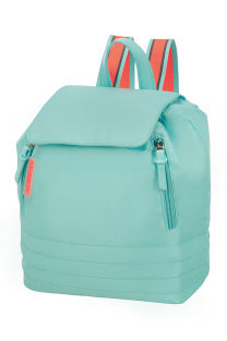 Mochila Casual Menta/Pêssego - Uptown Vibes |American Tourister